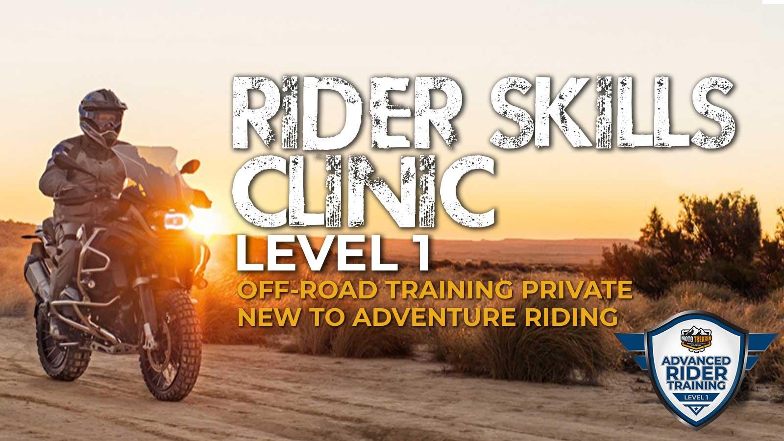 Private Rider Skills Clinic