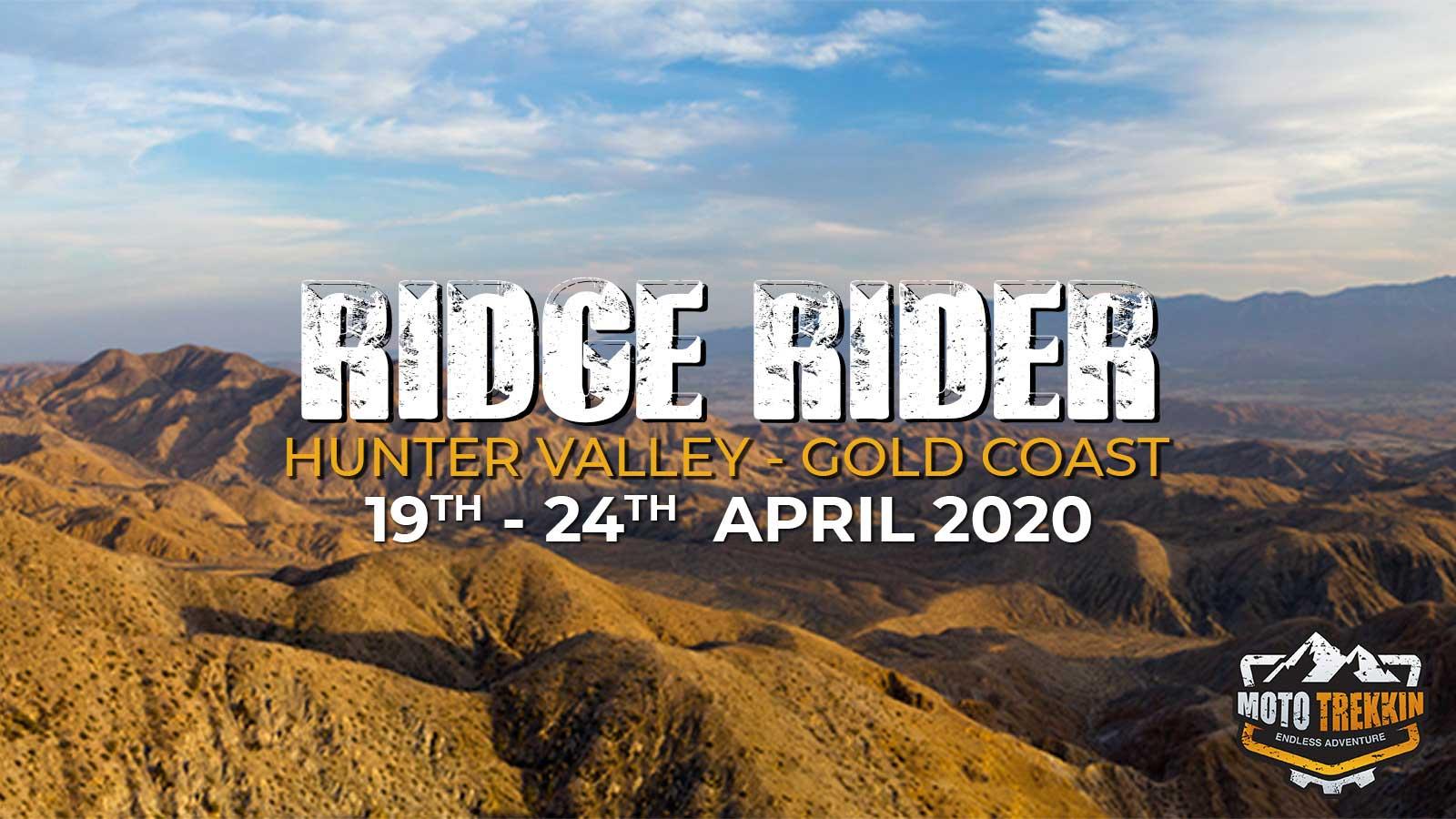 Ridge Rider 2020